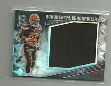 2016 Spectra  DUKE JOHNSON  Monumental Memorabilia   060/199