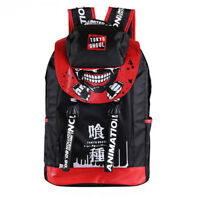 Outdoor Backpack Fashion Anime Tokyo Ghoul Print School Bag Laptop Bags Cosplay