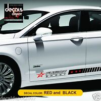 Decal Vinyl Fits FORD Fusion SEl Parts / Hybrid  2006 2007 2008 2009 to 2015