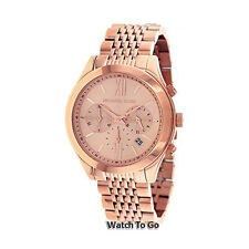 NEW MICHAEL KORS WATCH for Women * Chronograph * Brookton * Rose Gold * MK5775