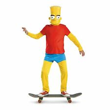 The Simpsons Bart Simpson Child Deluxe Costume (Large)