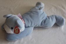 Huggy Ty Pillow Pals Pets Bear Light Blue Baby Boy MWMT Mint