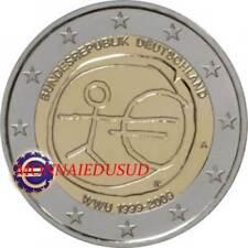 2 Euro Commémorative Allemagne 2009 - 10 Ans de l'Euro EMU
