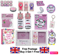 MOTHERS DAY GIFTS Keyring Party Balloon Mum Ideas Bag Birthday Candle Card Pen