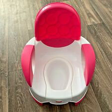 Fisher Price Custom Comfort Potty in Pink and White with Adjustable Legs