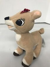 """Clarice Rudolph Red Nosed Reindeer Girlfriend Plush Stuffed Animal Toy 6"""" Tall"""