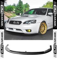 Subaru Liberty GT STI Style Front Bumper Lip Spoiler (03-06) Urethane PU