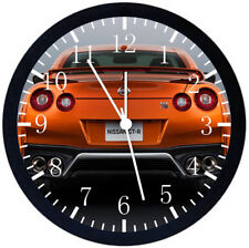 Nissan GTR Super Car Black Frame Wall Clock Nice For Decor or Gifts E193