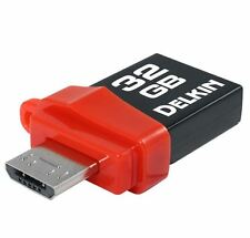 Delkin 32GB PictureStick USB 3.0 Flash Drive for Android Tablets and SmartPhones