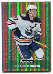 2019-20 Parkhurst Connor McDavid Card #PK-1 Edmonton Oilers