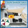 Toldo Vela Rectángulo Toldo Parasol Vela de Sombra para Jardín Protección UV