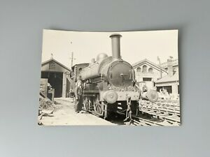 Vintage Photograph Locomotive No 7 at Wolverton Works 13th May 1959 Railwayana