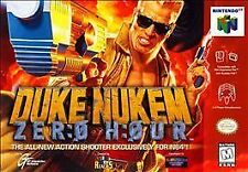 DUKE NUKEM ZERO HOUR N64 NINTENDO 64 GAME COSMETIC WEAR