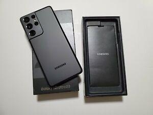Samsung Galaxy S21 Ultra 5G - 128GB - Duos - Phantom Black - Unlocked + (VATINC)