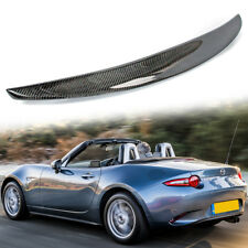 For Mazda MX-5 Miata Carbon Fiber Convertible Performance Trunk Spoiler 16-18