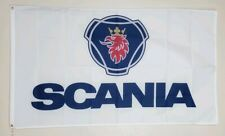 Scania Banner 3x5 Ft Flag Trucker Man Cave Garage Wall Decor Advertising Promo