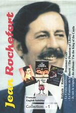 Jean Rochefort  Collection 1. Français.  Optional English Subtitles. 4 movies