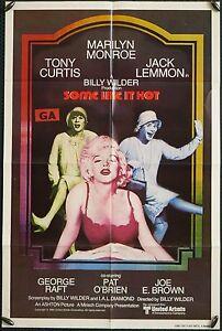 Some Like it Hot - original 1sh poster (reissue) (UNUSED)
