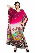 Floral Print Designer Caftan Maxi Long Plus Size Cover Up Kaftan Dress