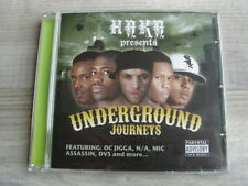 uk rap hiphop CD grime *NEAR MINT* HAKA BEATS Underground Journeys DVS BIG CAKES