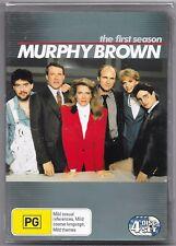 Murphy Brown : Season 1 (DVD, 2005, 4-Disc Set)New Region 4 Free Post