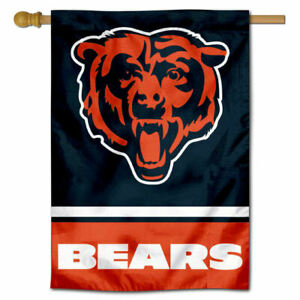NFL Chicago Bears House Flag and Banner