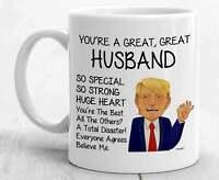 Trump Husband Mug For Husband Gifts For Husband Coffee Mug Funny Donald Hubby