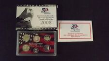 2008 State Quarter Collection 90% Silver Proof San Francisco Mint Complete COA