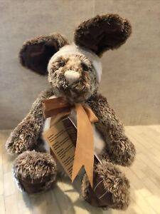 Charlie Bears Plush Collection 2017 Retired Olwen W/ Name Card Estate Sell Item