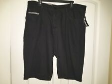 Ecko Unltd Men's 759 Relaxed Slim Straight Denim Shorts NWT Black 100% Cotton