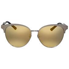 Gucci Gold Mirror Cat Eye Sunglasses
