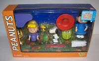 Peanuts It's The Great Pumpkin Charlie Brown Figures Memory Lane NIB
