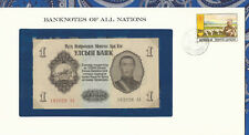 Banknotes of All Nations Mongolia 1955 1 Tugrik P28 UNC 192026 AA