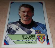 FIGURINA CALCIATORI PANINI 1993/94 GENOA TACCONI ALBUM 1994
