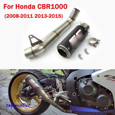 For Honda CBR1000RR 08-11 13-15 Exhaust System Carbon Tail Pipe Slip Middle Pipe
