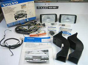 Genuine Volvo 740 760 Fog Light Kit Relay Switch Lights Turbo RARE NOS NEW