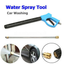 High Pressure Washer Spray Clean Car Washing Water Gun Pipe Hose Nozzle Tool Kit