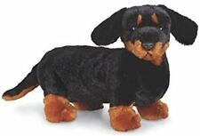 Webkinz Dachshund Wiener Dog Bean Bag Stuffed Animal Plush HM345 with Code