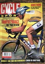 ProCycling magazine September 1999, Tour De France Review, Lemond, Armstrong