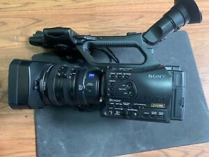 Sony HVR-Z7U HDV Camcorder. Great camera with low hours and Flash Card Recorder