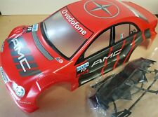 "1/10 RC car 190mm on road drift Mercedes ""AMG"" Sports Body Shell Red"