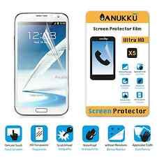 3x PELLICOLA PROTETTIVA per Samsung Galaxy Note 2 FRONTE + PANNO