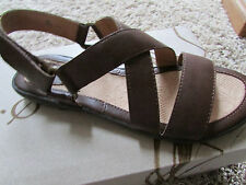 NEW BORN B.O.C BARBRO STRAPPY SANDALS WOMENS 7 Z32906 BROWN  FREE SHP