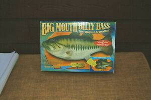 UNUSED 1998 BIG MOUTH BILLY BASS THE SINGING SENSATION!!