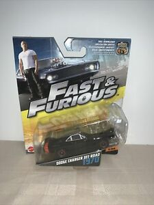 NEW 2016 Fast & Furious 1/32 1970 DODGE CHARGER OFF ROAD 1:55 Scale Mattel NOC