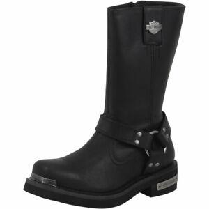 Harley-Davidson Men's Landon Performance Black Motorcycle Boots Shoes Sz: 11