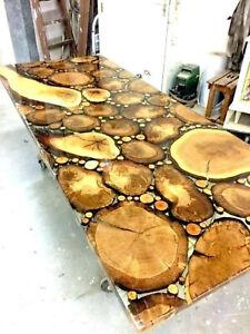 River Coffee Din Confrence Table Epoxy Resin Table Acacia Handmade Unique Decors