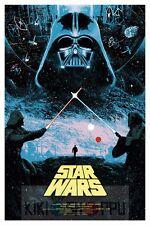 Poster A3 Star Wars Episode IV / La Guerra De Las Galaxias Cartel 02