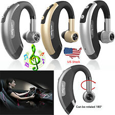Wireless Bluetooth Earphone Stereo Headset Ear-hook Handsfree Earpiece for Lg