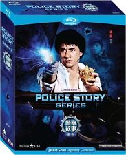 "Jackie Chan Police Story Trilogy"" Maggie Cheung HK 3 Discs Boxset Blu-ray"